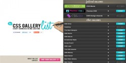 The-CSS-Gallery-List